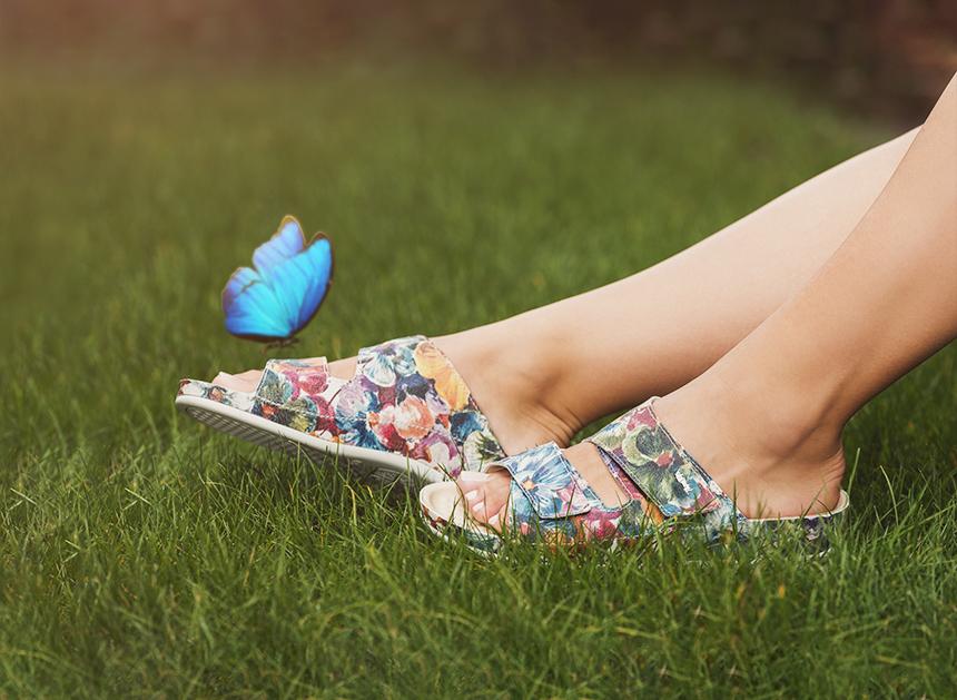 Vital Schuhe mit Schmetterling